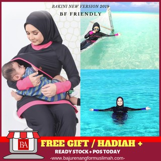 [NEW!! & GET FREE GIFT] BAKINI MUSLIMAH SWIMMING SUIT VERSION 2.0 | BY BAKINI HQ