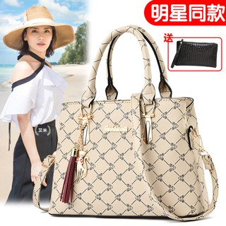 Middle-aged female bag 2019 new winter tide Korean version of the wild atmospher