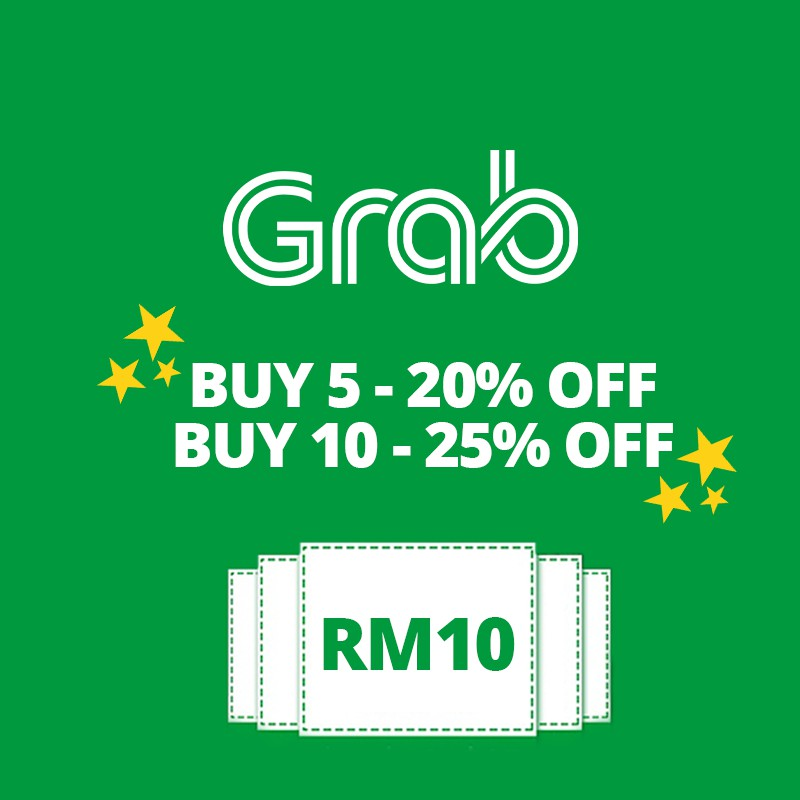 Grab Car RM10 Code - Instant Receive Code