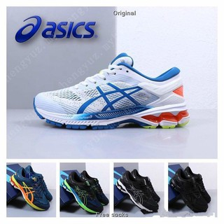 Original 2019 ASICS GEL-KAYANO 26 Men Professional Cushioning Running shoes 40-45 Ready stock]