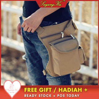 🌟READY STOCK🌟FREE GIFT🎁Outdoor Multifunctional Leg Bag Casual Sports Bag B114