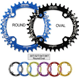 104BCD Bicycle Chainring 32T/34T/36T Narrow Wide Cycle Chainwheel Bike Crankset
