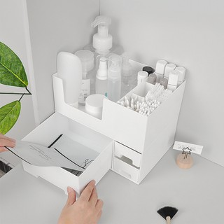 bosymart ins muji style removable bedroom cosmetic storage box