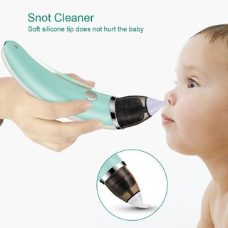 Electric Baby Nasal Aspirator, Ravifun Snot Sucker Nose Mucus Boogies Vacuum Cleaner with 5 Level of Suction for Newborn