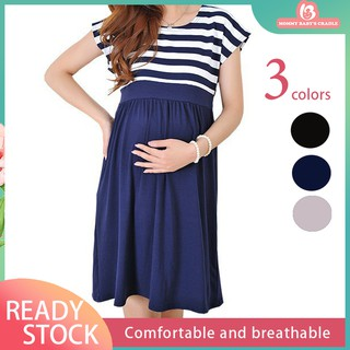 Women Long Dresses Maternity Nursing Dress for Pregnant Pregnancy Women's dress