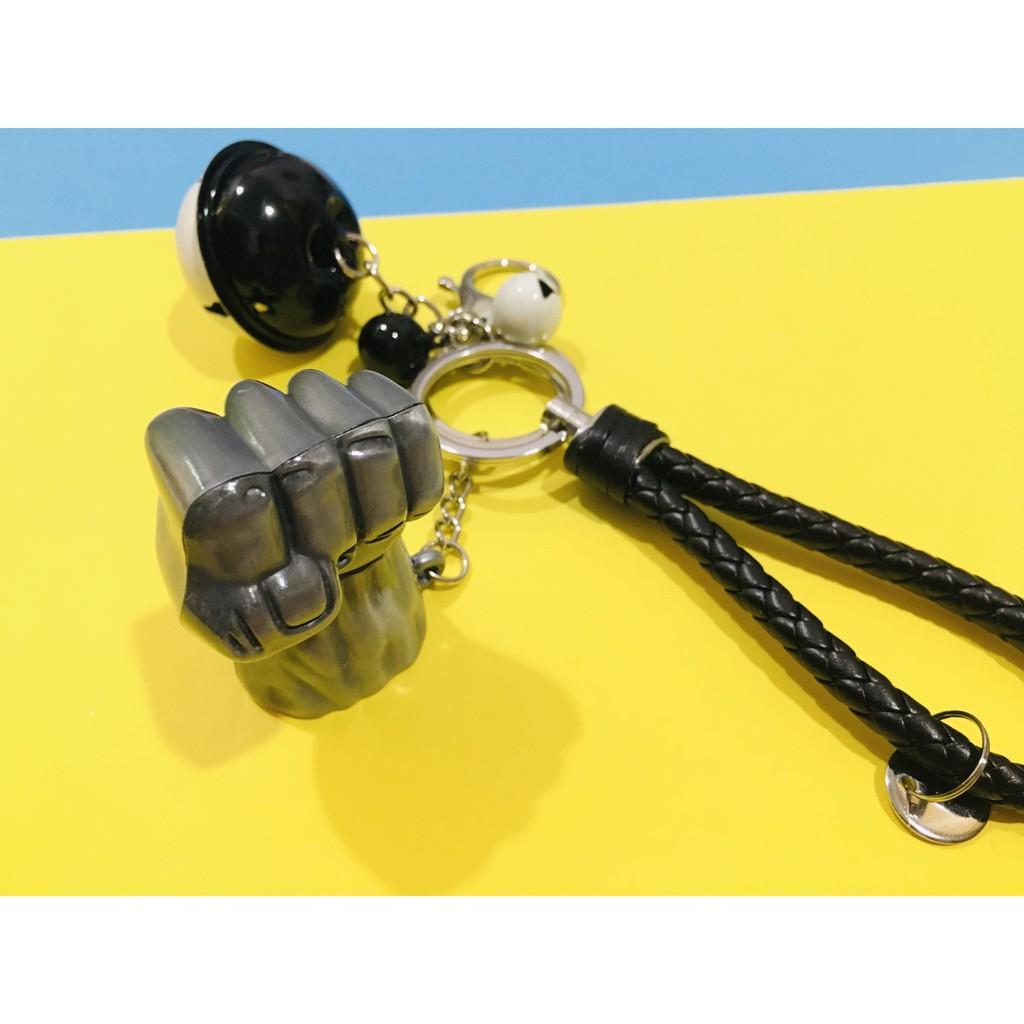 Avengers Keychain Metal Hulk Punch/ Power Hand Keychain