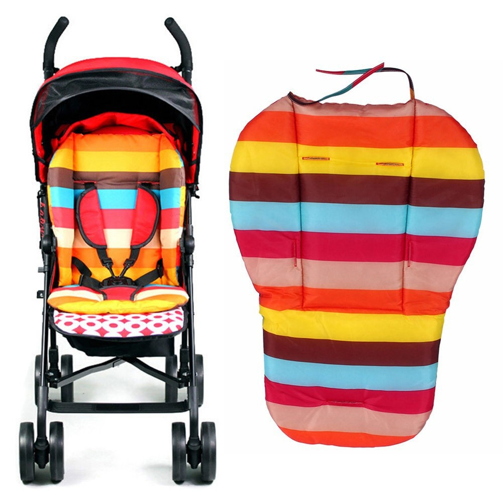 Infant Baby Stroller Cute Cushion Seat Pushchair Baby Chair Mat Soft Thick Pram