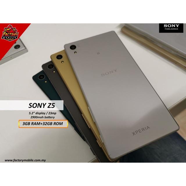 Sony Xperia Z5 [ 3+32GB ] Original 🔥🔥