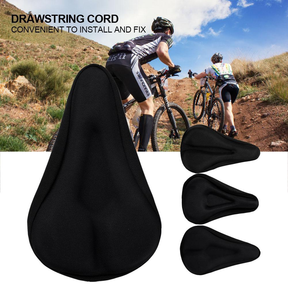 Comfortable Silicone Gel Thick Soft Bicycle Bike Seat Cover Cushion Pad ZH