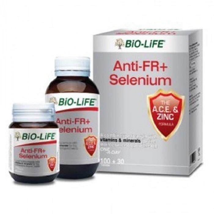 Bio Life Anti FR Selenium 100s+30s (Antioxidant Protection)