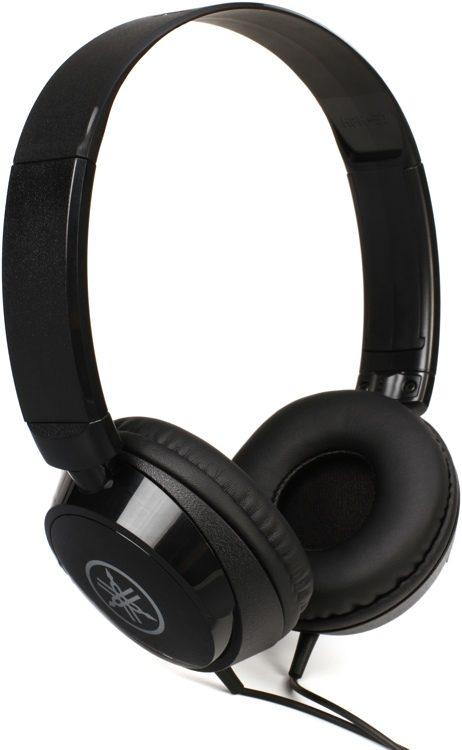Yamaha HPH-50 Instrument Headphone (Black/White) (HPH50 / HPH 50)