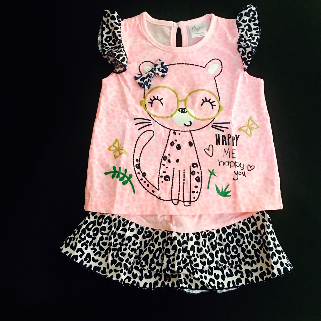 87143db7b 224-0038 Precious Babe Girl Baby Bird Skirt Set