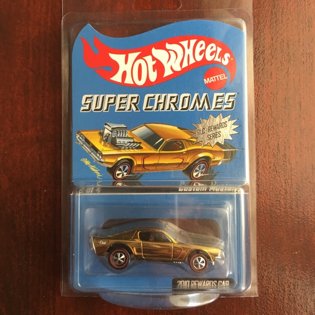 2010 HOT WHEELS RED LINE CLUB EXCLUSIVE  CUSTOM AMC AMX  LIMITED TO 6500  NEW