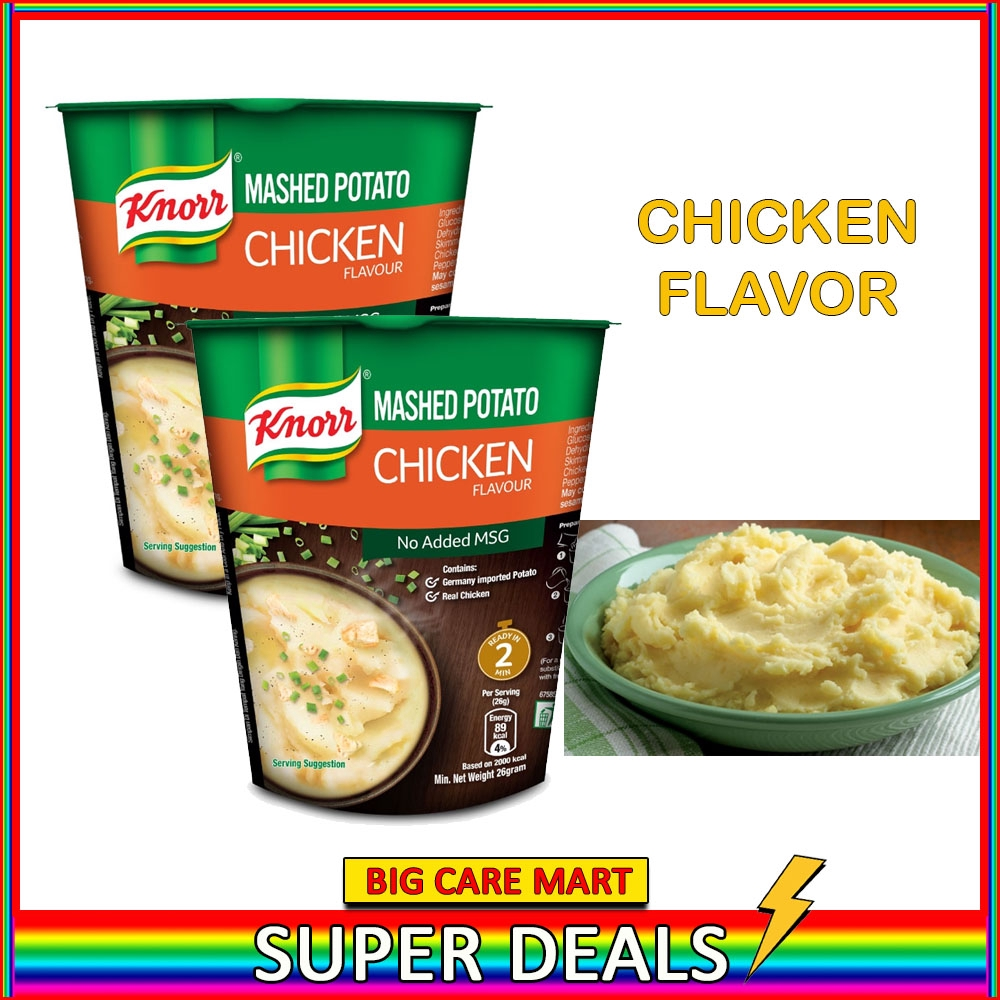 Knorr Mashed Potato Instant Mash Potato 26g (CHICKEN) X 2