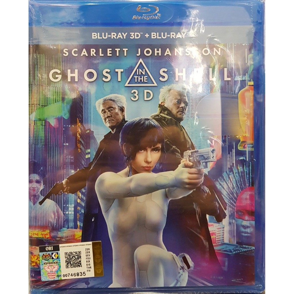 Ghost in the Shell (2017) Bluray 3D + Bluray