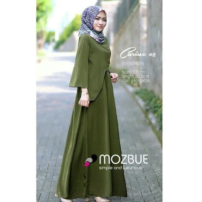 PRE ORDER Baju Muslim Muslimah Fashion Long Dress Maxi ...