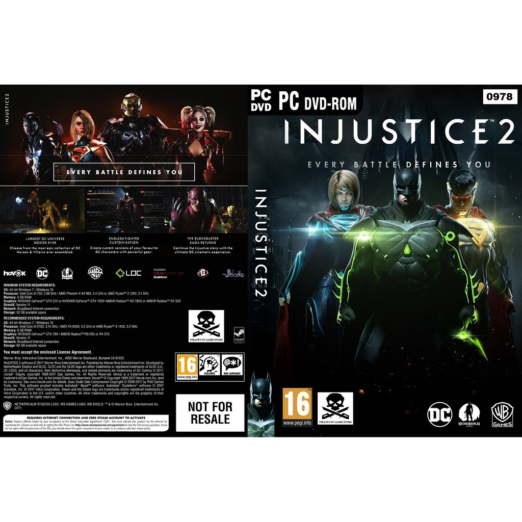 Pc Injustice 2 Legendary Edition Shopee Malaysia Deluxe Ps4