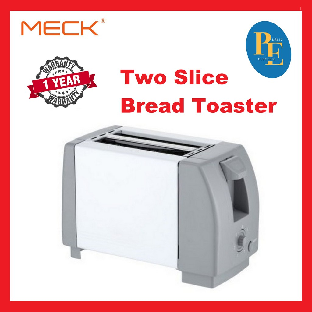 Meck Two Slice Bread Toaster - MBT-200D