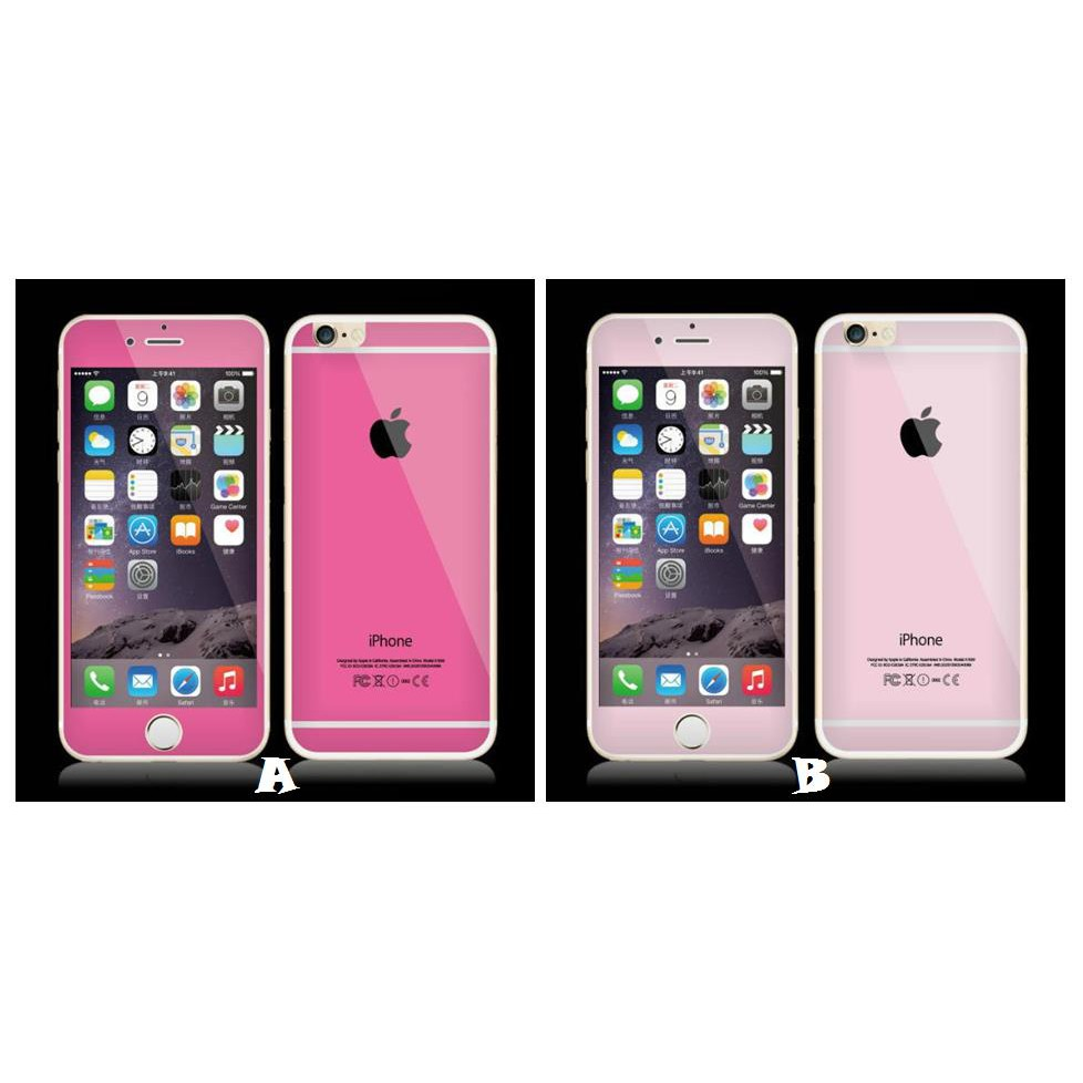 san francisco 345b7 82121 iPhone 6 4.7 PINK Diamond Tempered Glass Screen Protector *FREE GIFT*