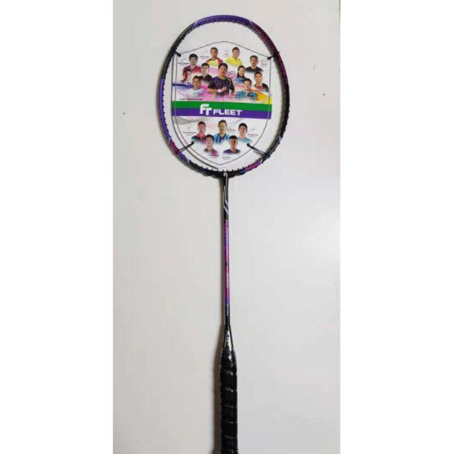 READY STOCK Fleet Smash Power BLACK PURPLE Badminton ...