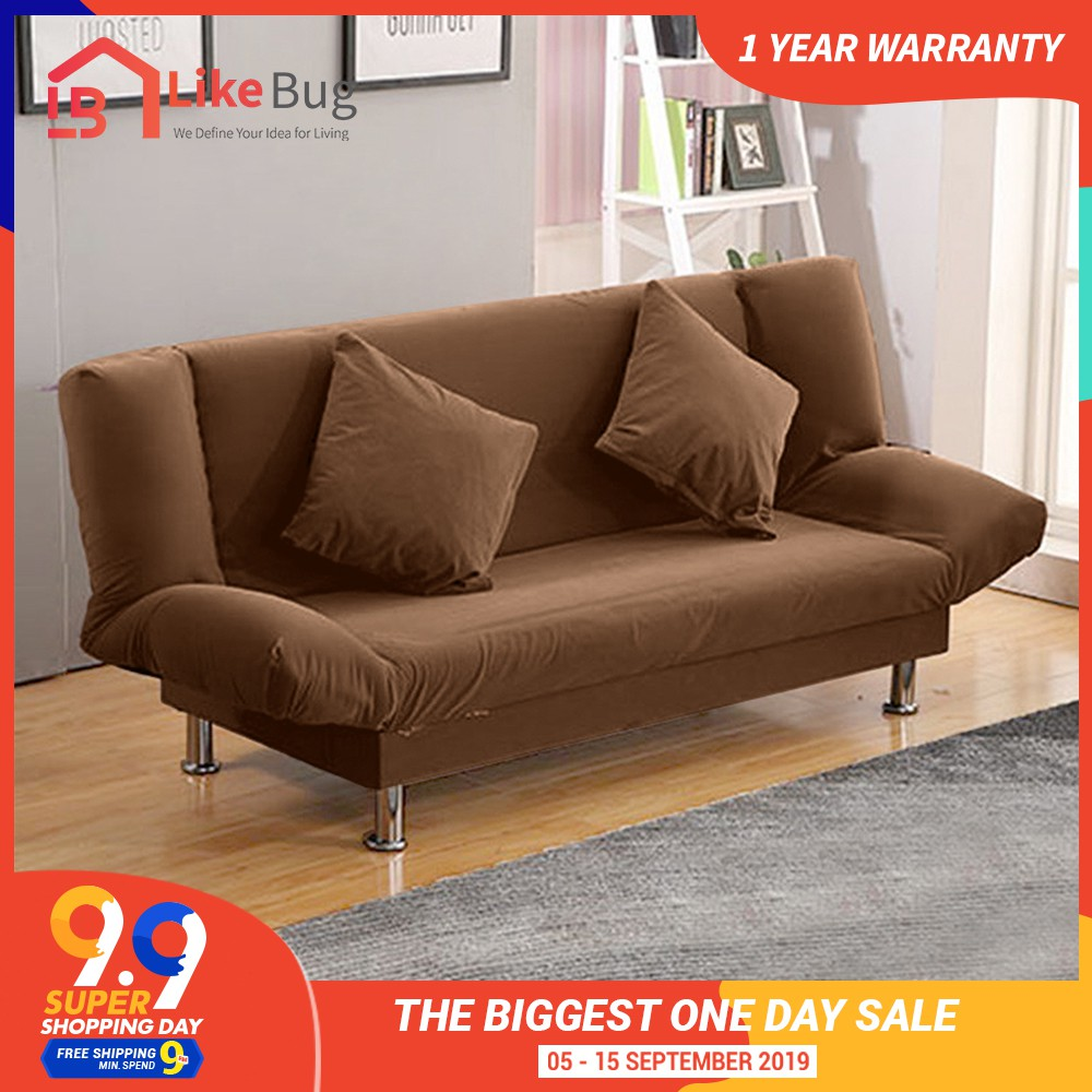 IRIS: Living room 2 in 1 Foldable Sofa Bed (2 seater or 3 seater)