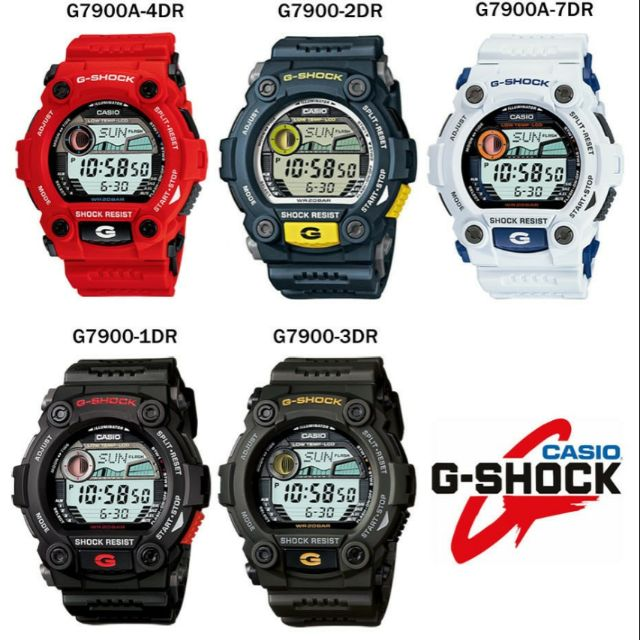 bf94093515e1 CASIO G-SHOCK G-7900-2DR   G-7900-2D   G-7900-2   G-7900 WATCH 100%  ORIGINAL