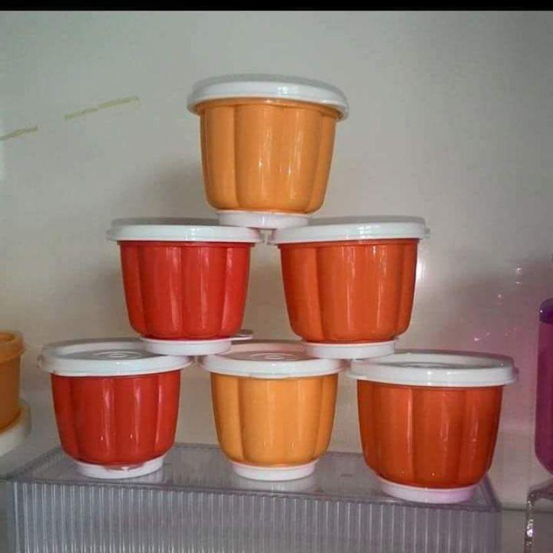 6pcs Jellette Set Jelly Pudding Mold Tupperware