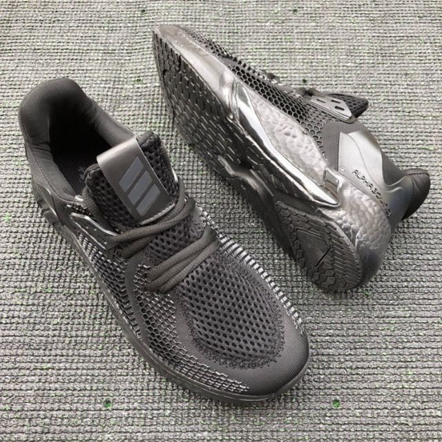 Adidas Alphabounce Instinct M Running Shoes Men All Black - 41-45 EURO