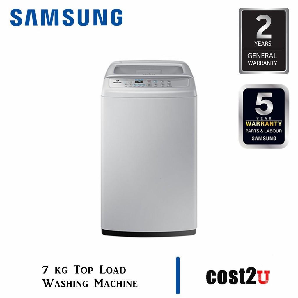 SAMSUNG WASHING MACHINE 7.0KG TOP LOAD | WA70H4000SG