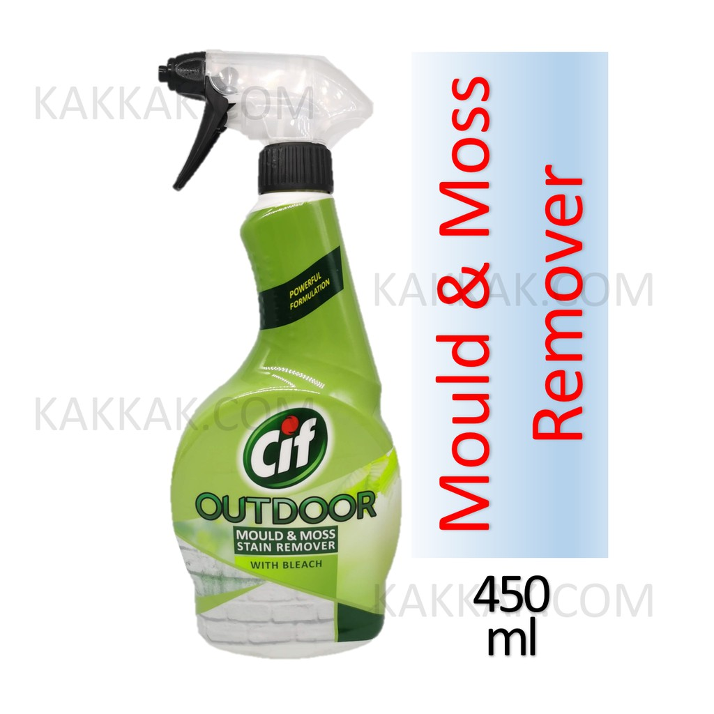 Cif Spray Mould & Moss Killer Cleaner Liquid 450ml
