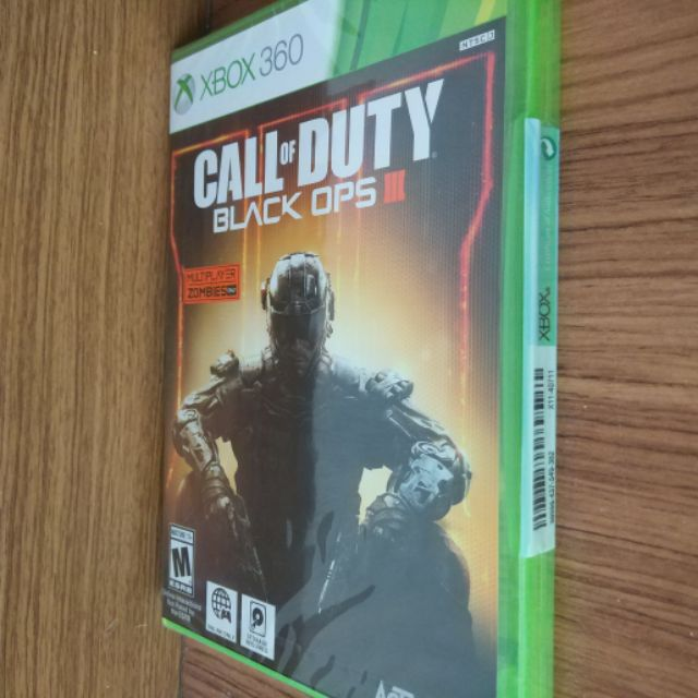 Xbox game Call of duty black ops 3