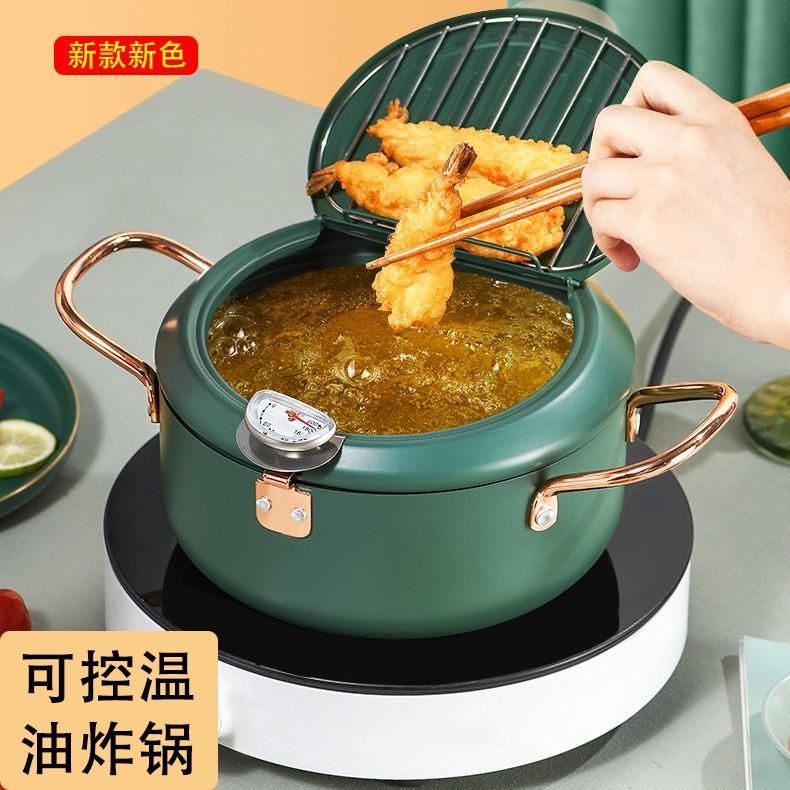 Japanese small fryer 日本小型炸锅油锅
