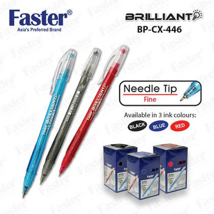 Faster Brilliant Ball Pen CX446 10pcs