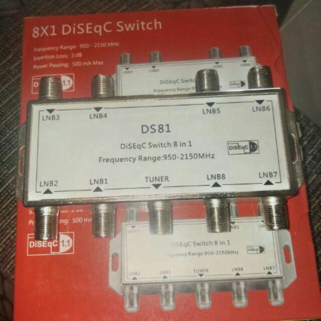 Diseqc Switch 8X1