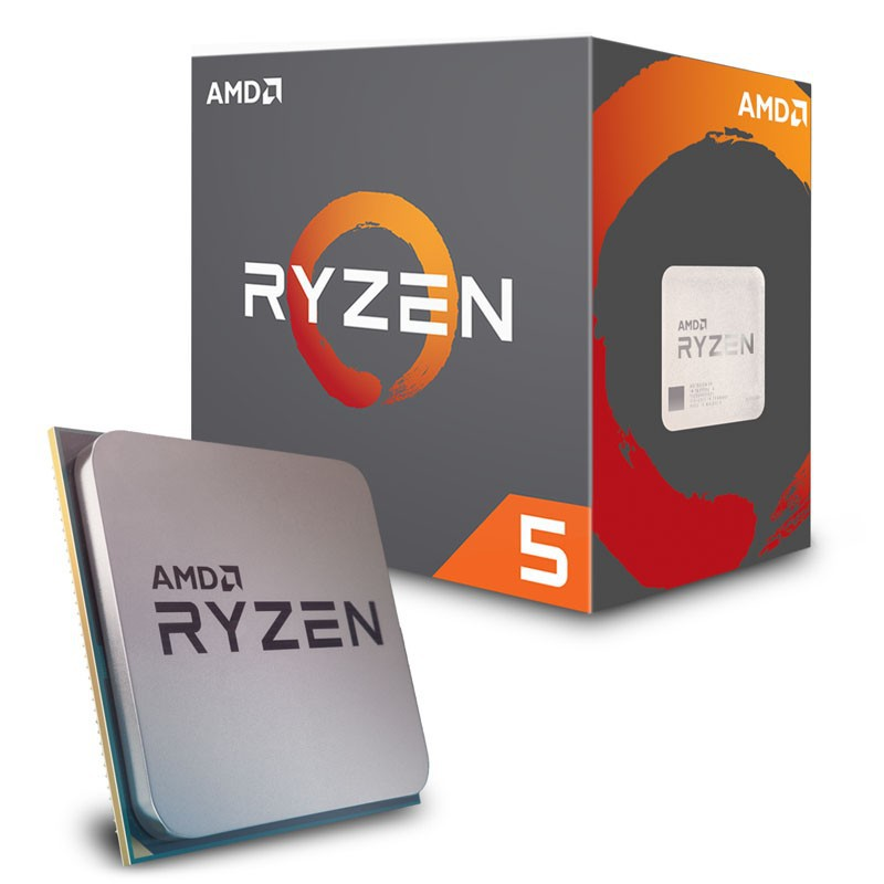 AMD RYZEN 5 2600 6-Core 3 4 Ghz Processor (With Wraith Stealth Cooler)