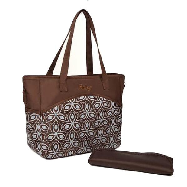 Mylilangelz KA0175 Maternity Bag - Pack N Go Diaper Bag (Brown) (READY STOCK)