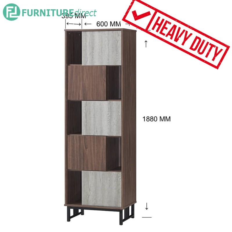 VERA heavy duty metal frame tall filling cabinet/ bookcase/ rak buku