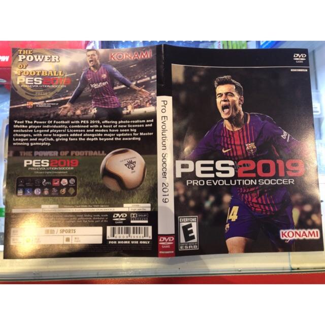 Ps2 PES 2019 ENGLISH / Pro Evolution Soccer 2019