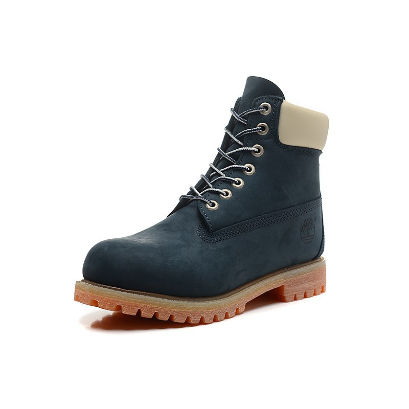 hochwertige Materialien Luxusmode stabile Qualität Timberland Boots Classic Men and women boots high top shoes Blue 36-45