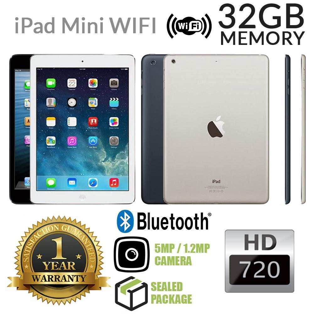 Apple Ipad Mini 1 16gb Wifi Cellular Used Shopee Malaysia White