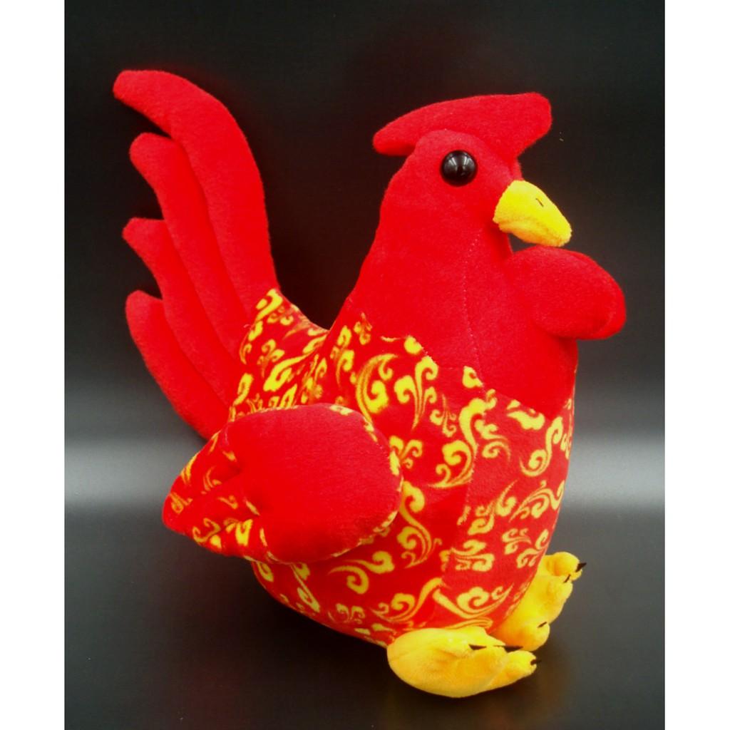 Prosperity Chicken Stuffed Toy Doll