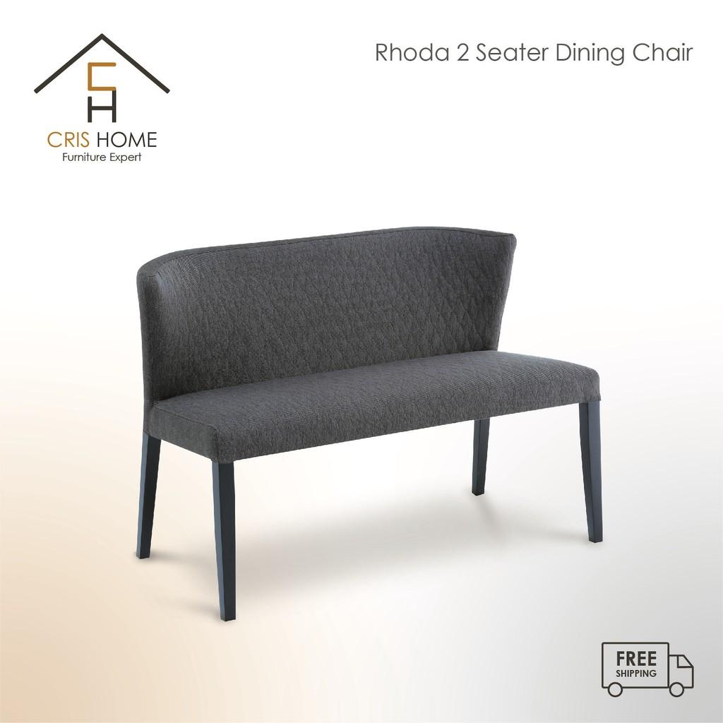 CrisHome - RHODA 2 Seater Chair ( Free Shipping to West Malaysia )