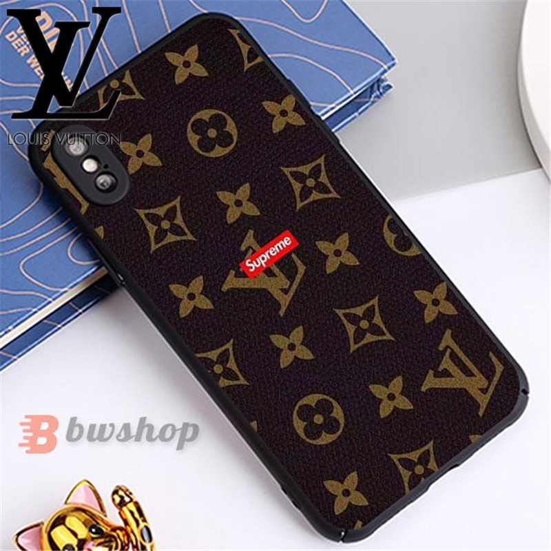 LV Supreme Louis Vuitton Mickey Hello Kitty Cover IPhone 6/6S 7/8 Plus X/XS Max XR 11 Pro Max Print Case