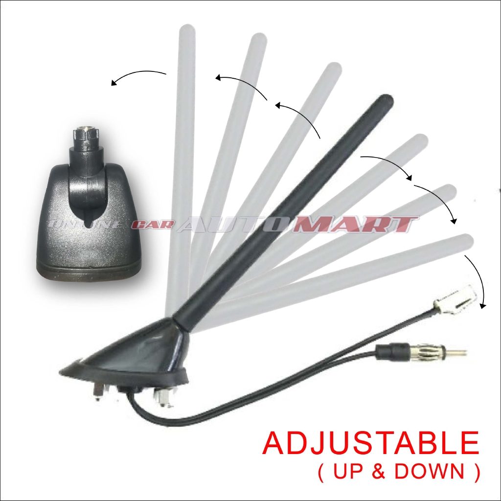 PERODUA MYVI FIRST MODEL (2005-2010) ANTENNA WITH BASE COVER