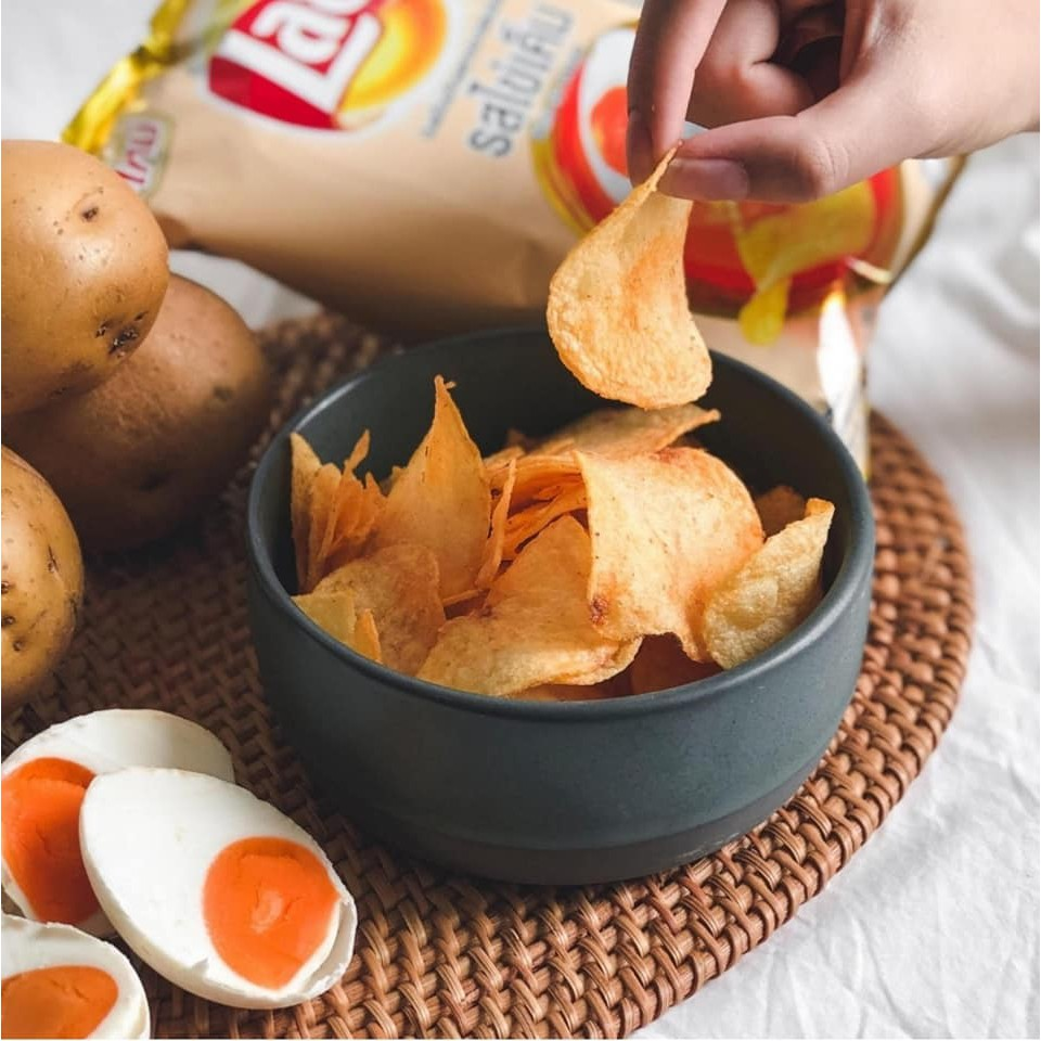 Lays Salted Egg Flavour Potato Chips Thai Snack 46g