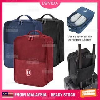 c2a0111cec50 LOVIDA Portable Travel Dust-Proof Organizer Shoes Space Saving Multi ...