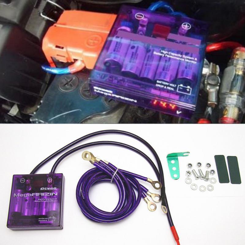 PIVOT RAIZIN Power Voltage Volt Stabilizer Regulator Earth Ground Wire Universal
