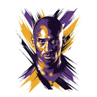 Kobe Bryant Poster Nba Legend Rip Black Mamba Wallpaper Painting Art Collection Water Resistant Finishing Shopee Malaysia