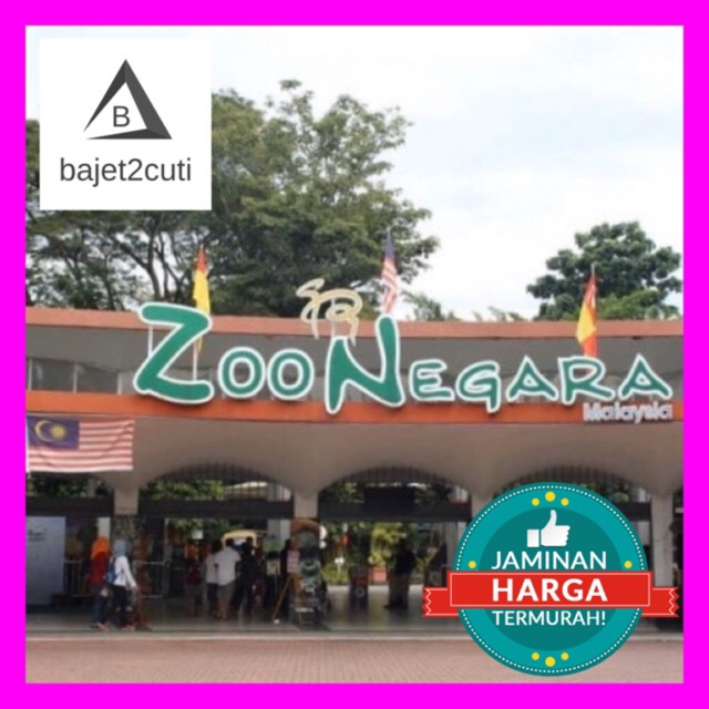 10 10 Sale Tiket Zoo Negara Kuala Lumpur Giant Panda Open Date Ticket Shopee Malaysia