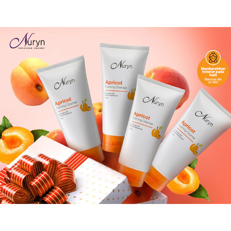 Original TUPPERWARE | NURYN Apricot Foaming Cleanser [Ready Stock]